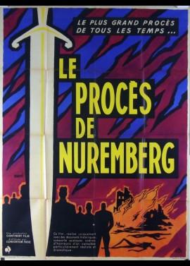 WIEDER AUFGEROLLT DER NURNBERGER PROZESS movie poster