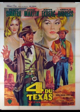 4 FOR TEXAS / FOUR FOR TEXAS movie poster