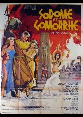 SODOME AND GOMORRAH movie poster