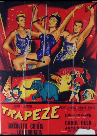 TRAPEZE movie poster