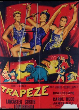 TRAPEZE movie poster