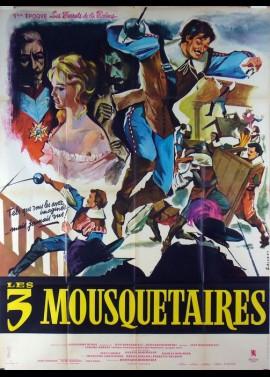 affiche du film TROIS MOUSQUETAIRES 1 ERE EPOQUE LES FERRETS DE LA REINE