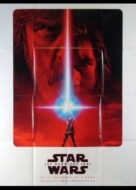 affiche du film STAR WARS 8 LES DERNIERS JEDI