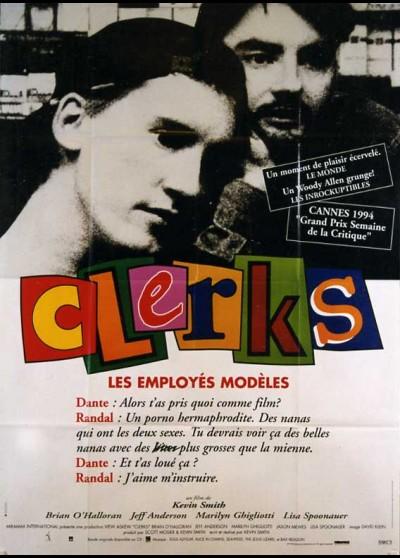 affiche du film CLERKS LES EMPLOYES MODELES