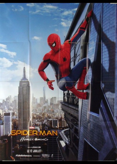affiche du film SPIDERMAN HOMECOMING