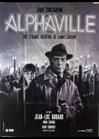 ALPHAVILLE movie poster