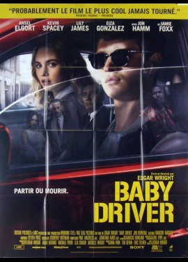 BABY DRVER movie poster