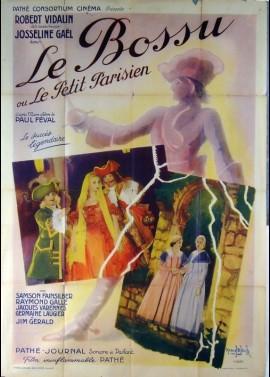 affiche du film BOSSU OU LE PETIT PARISIEN (LE)