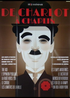 affiche du film DE CHARLOT A CHAPLIN