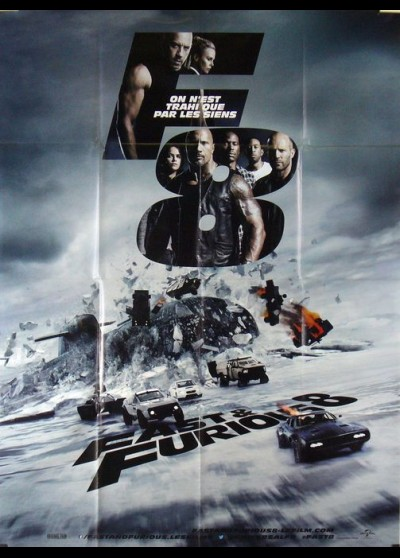 FATE AND THE FURIOUS (THE) movie poster