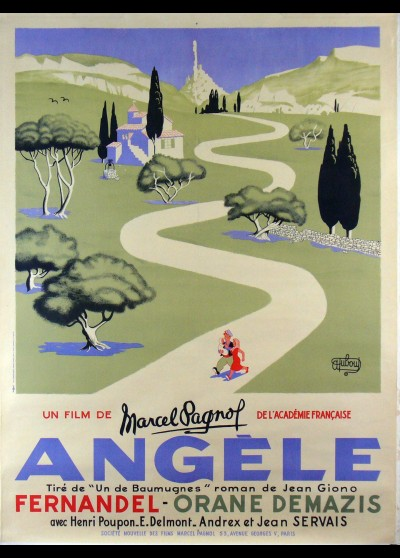 affiche du film ANGELE
