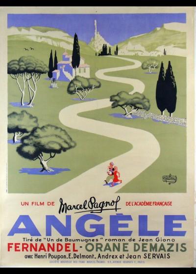 ANGELE movie poster