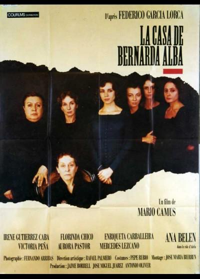 affiche du film CASA DE BERNARDA ALBA (LA)