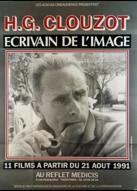 affiche du film CLOUZOT ECRIVAIN DE L'IMAGE