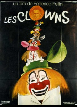 affiche du film CLOWNS (LES)