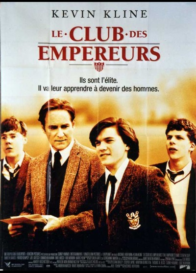 EMPEROR'S CLUB (THE) movie poster