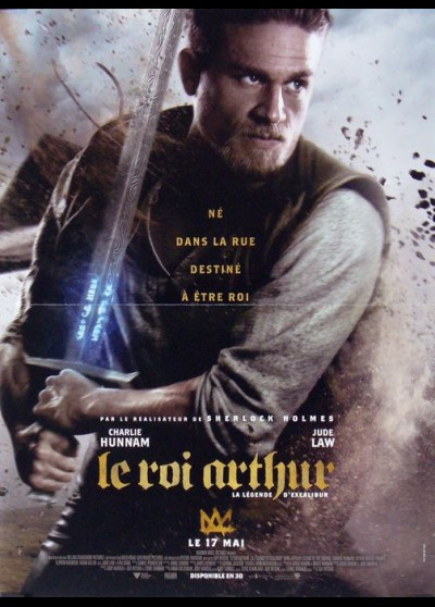 KING ARTHUR LEGEND OF THE SWORD movie poster