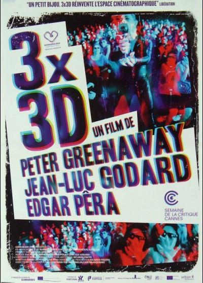 affiche du film 3X3D
