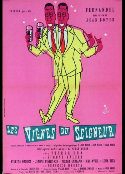 affiche du film VIGNES DU SEIGNEUR (LES)