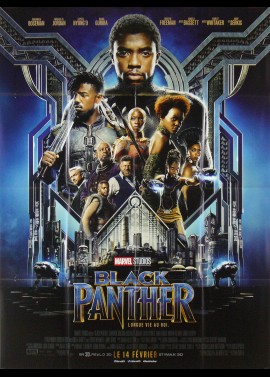 affiche du film BLACK PANTHER