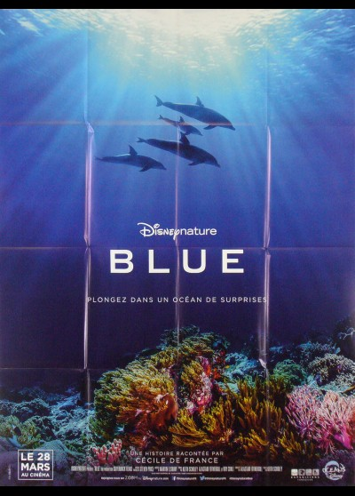 DOLPHINS movie poster