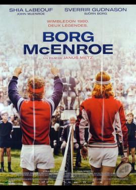 affiche du film BORG MCENROE