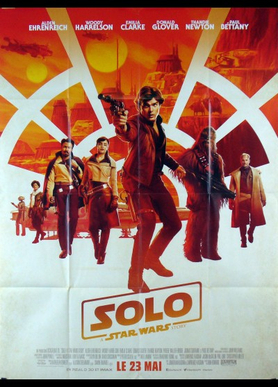 affiche du film SOLO A STAR WARS STORY