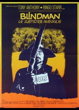 affiche du film BLINDMAN LE JUSTICIER AVEUGLE