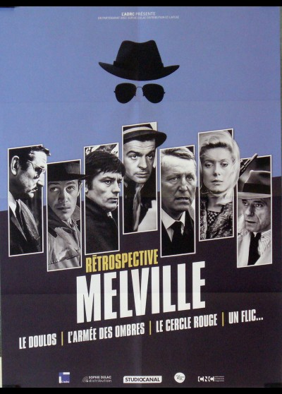 MELVILLE RETROSPECTIVE movie poster