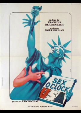 SEX O'CLOCK USA movie poster