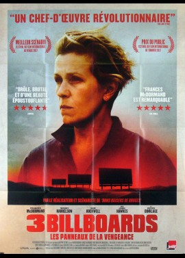 THREE BILLBOARDS OUTSIDE EBBING MISSOURI movie poster