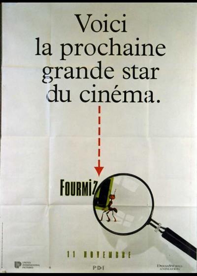 ANTZ movie poster