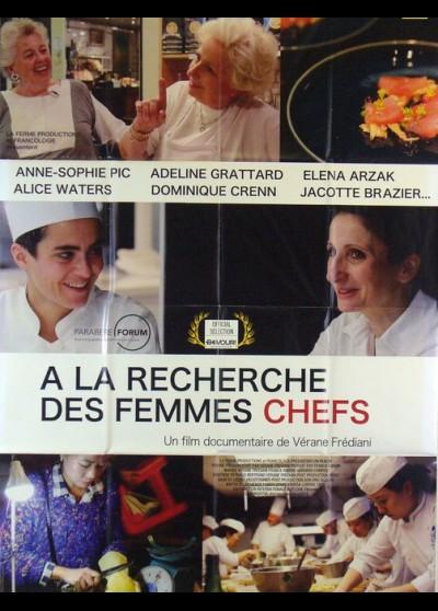 affiche du film A LA RECHERCHE DES FEMMES CHEFS
