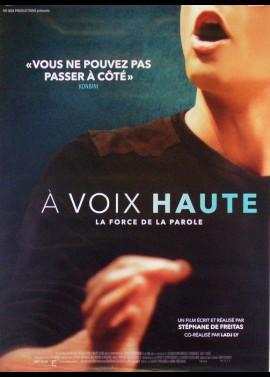A VOIX HAUTE movie poster