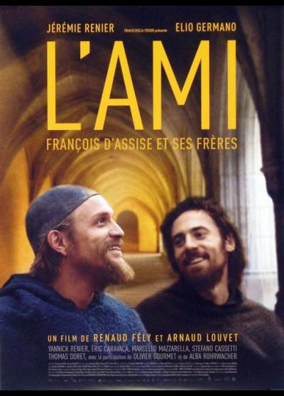 affiche du film AMI FRANCOIS D'ASSISE ET SES FRERES (L')