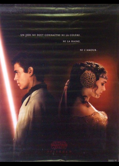 ATTACK OF THE CLONES STAR WARS EPISODE 2 movie poster