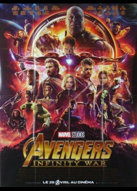 AVENGERS INFINITY WAR movie poster