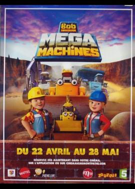 affiche du film BOB LE BRICOLEUR MEGA MACHINES