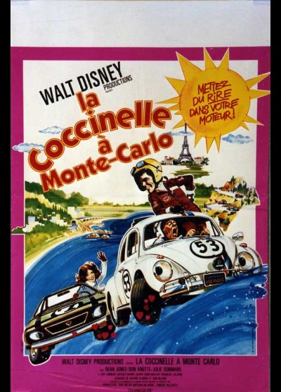 HERBIE GOES TO MONTE CARLO movie poster