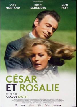 CESAR ET ROSALIE movie poster