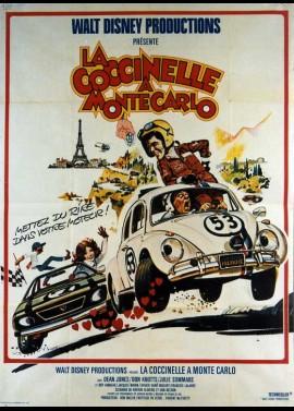affiche du film COCCINELLE A MONTE CARLO (LA)