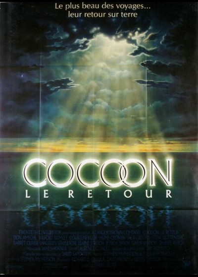 affiche du film COCOON LE RETOUR