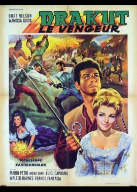 affiche du film DRAKUT LE VENGEUR