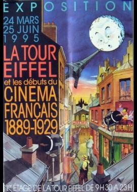 affiche du film EXPOSITION LA TOUR EIFFEL ET LE CINEMA