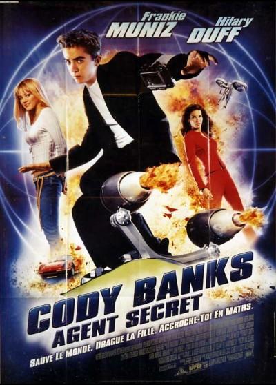 affiche du film CODY BANKS AGENT SECRET