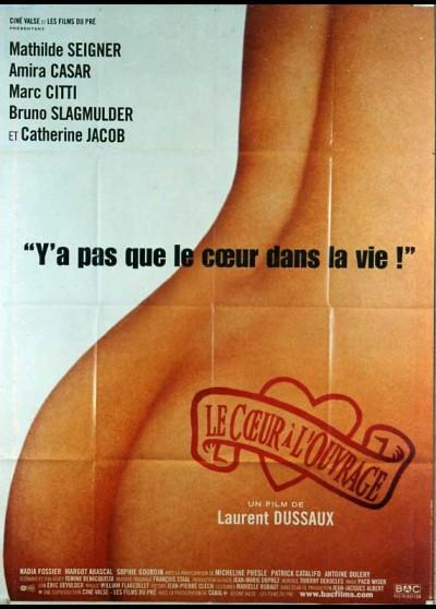 affiche du film COEUR A L'OUVRAGE (LE)