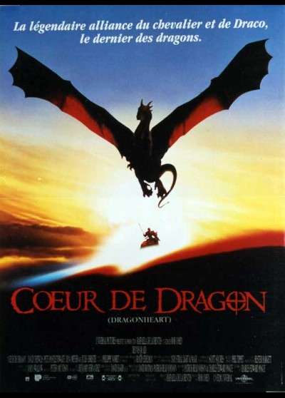 DRAGONHEART movie poster