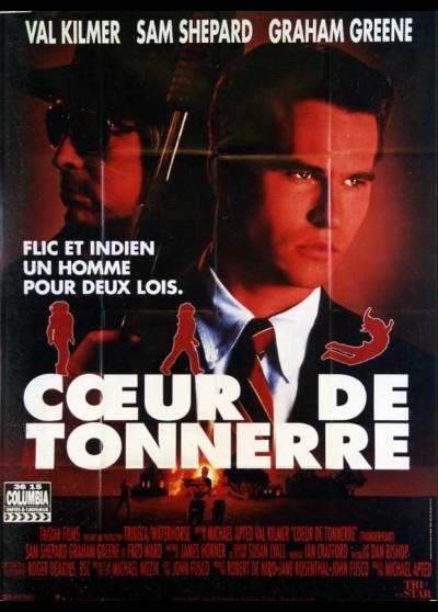 THUNDERHEART movie poster