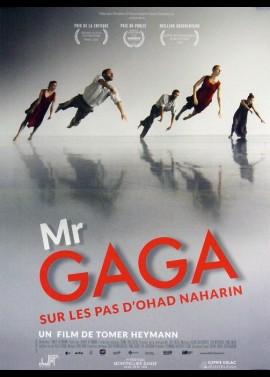 affiche du film MR GAGA SUR LES PAS D'HOAD NAHARIN