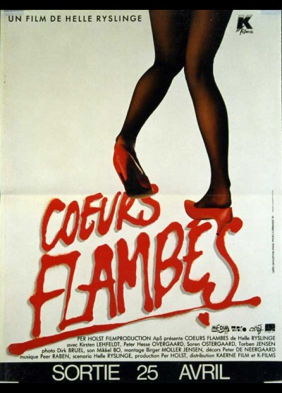 affiche du film COEURS FLAMBES